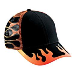 Flames & Stripes Caps
