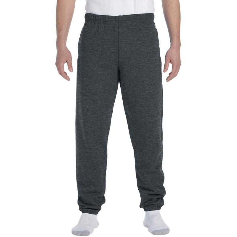 9.5 oz., 50/50 Super Sweats? NuBlend? Fleece Pocketed Sweatpants