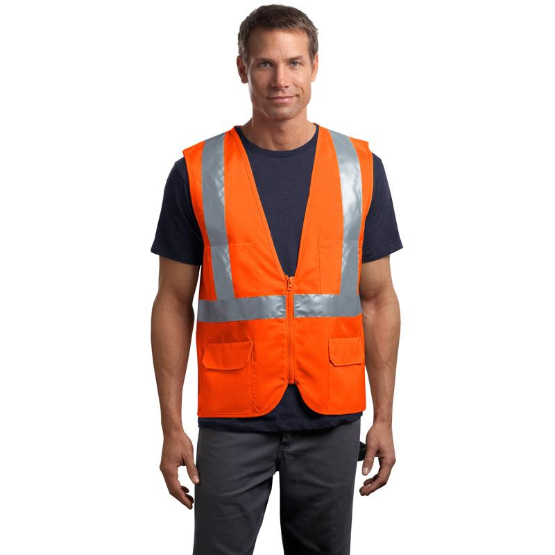 CornerStone ®  - ANSI 107 Class 2 Mesh Back Safety Vest. CSV405
