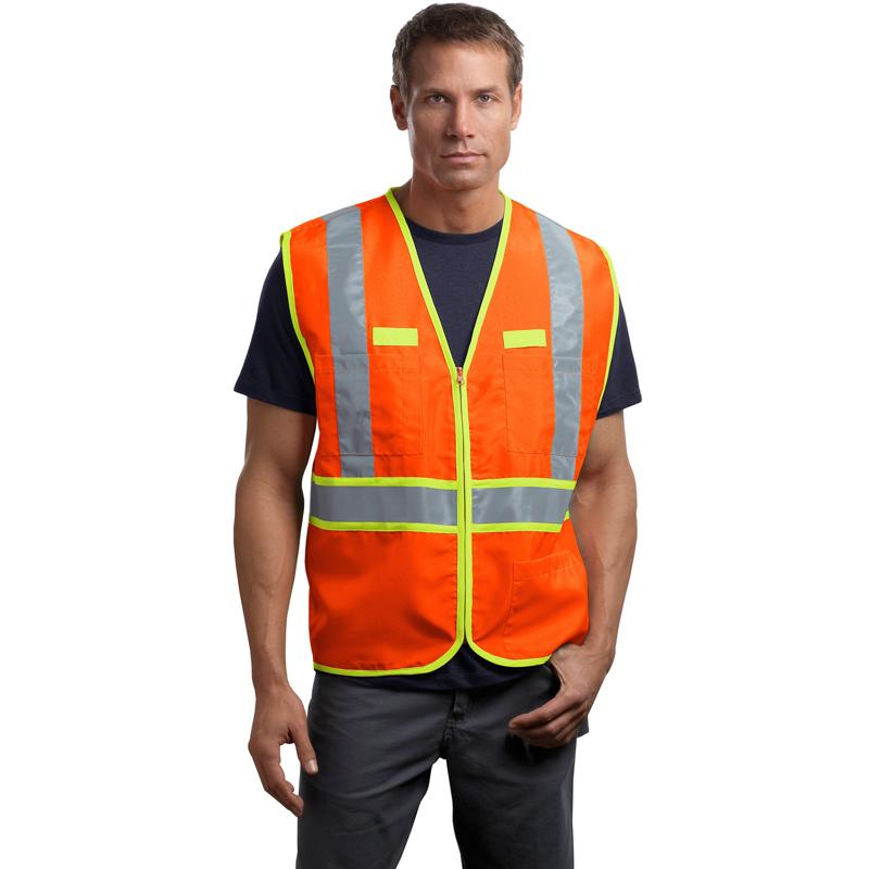 CornerStone ®  - ANSI 107 Class 2 Dual-Color Safety Vest. CSV407