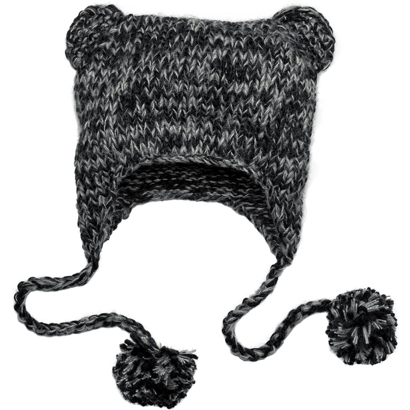 District ®  - Hand Knit Cat-Eared Beanie. DT626
