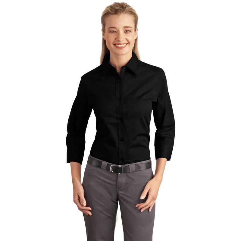Port Authority ®  Ladies 3/4-Sleeve Easy Care Shirt. L612