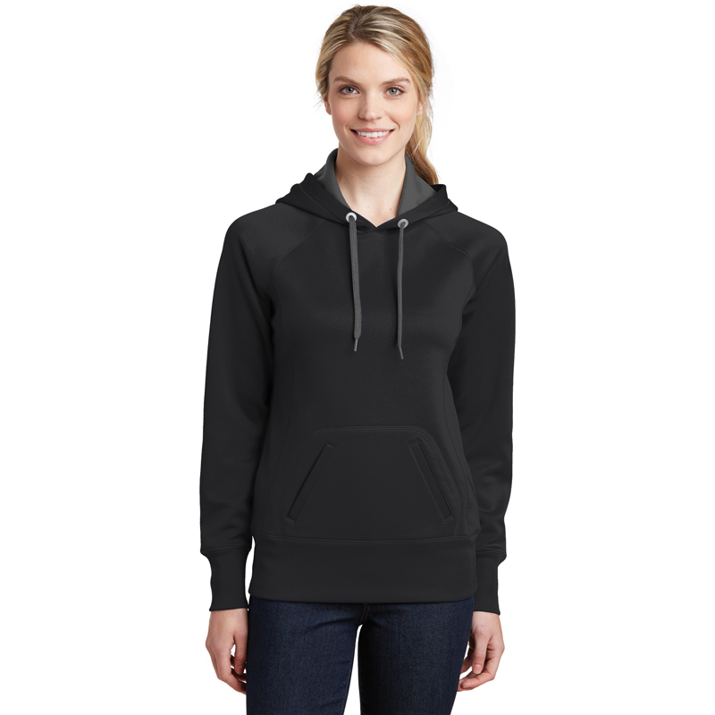 Sport-Tek ®  Ladies Tech Fleece Hooded Sweatshirt.  LST250