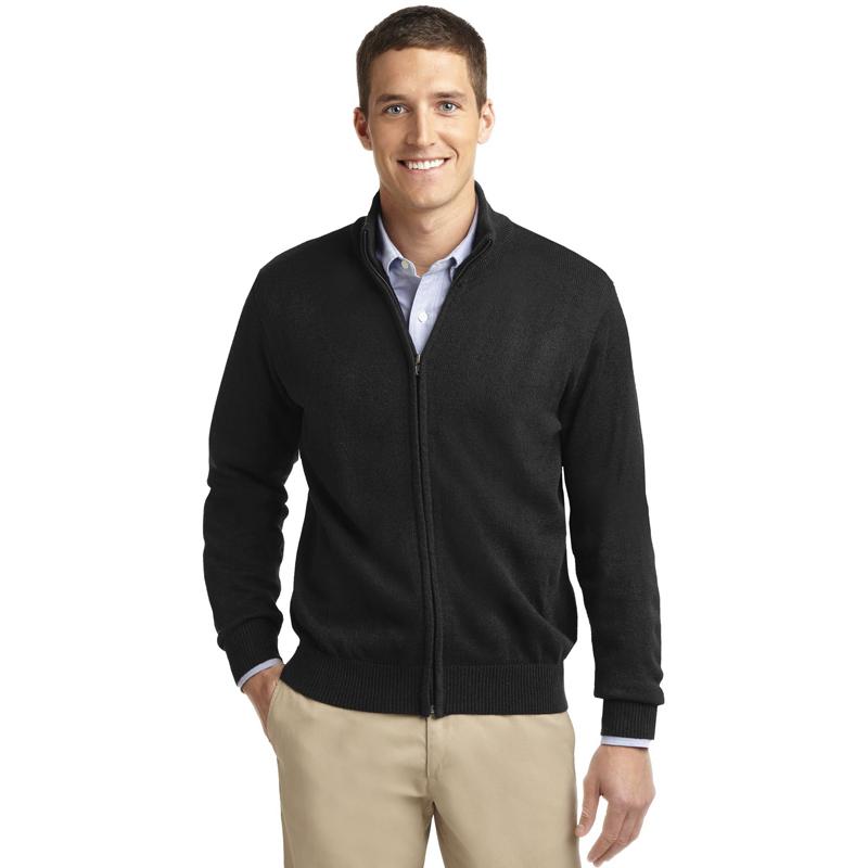 Port Authority ®  Value Full-Zip Mock Neck Sweater. SW303