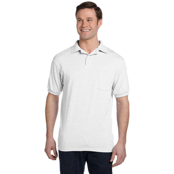 5.2 oz., 50/50 EcoSmart? Jersey Pocket Polo