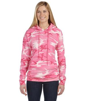 Camouflage Pullover Hooded Sweatshirt