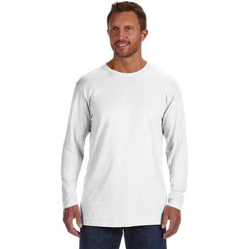 4.5 oz., 100% Ringspun Cotton nano-T? Long-Sleeve T-Shirt