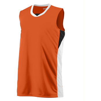 Adult Wicking Polyester Duo Knit Sleeveless Jersey