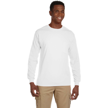 Ultra Cotton 6 oz. Long-Sleeve Pocket T-Shirt