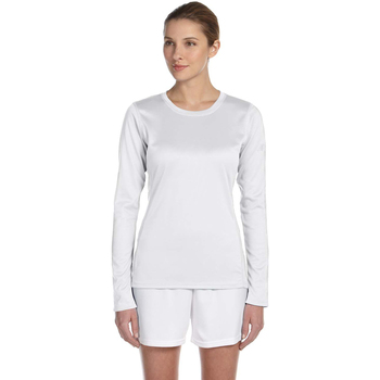 Ladies' Tempo Long-Sleeve Performance T-Shirt