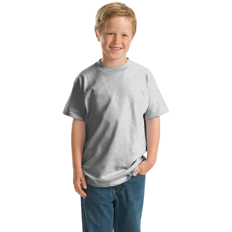 Hanes ®   -  Youth Beefy-T ®  100% Cotton T-Shirt.  5380