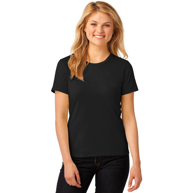 Anvil ®  Ladies 100% Ring Spun Cotton T-Shirt. 880