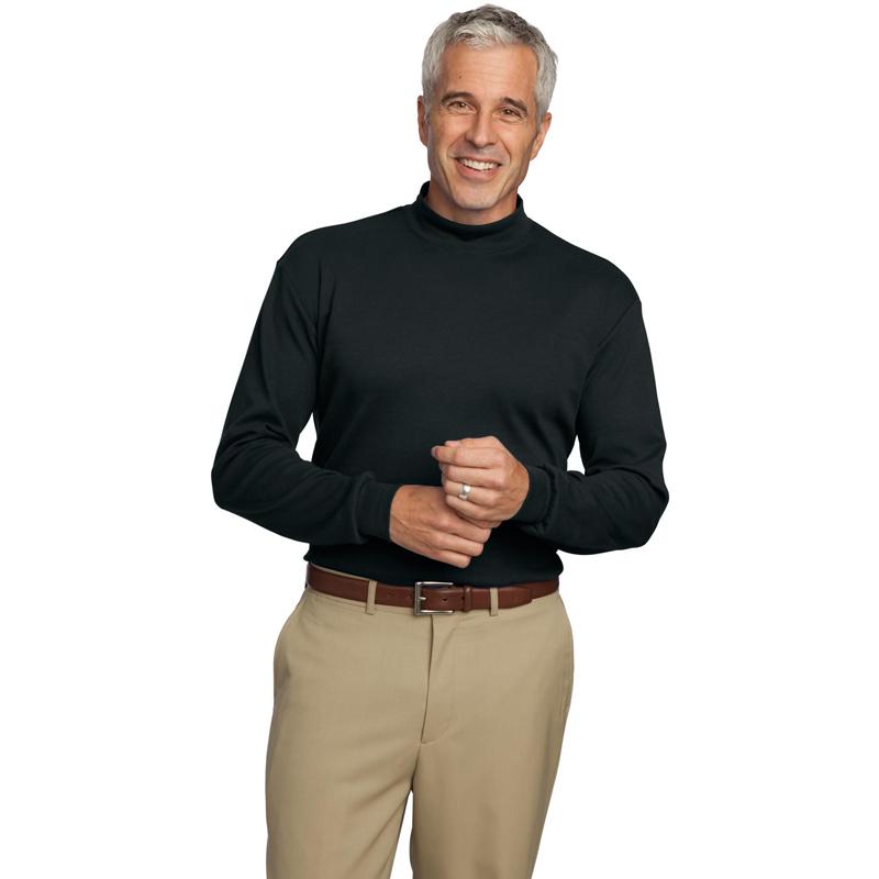 Port Authority ®  Interlock Knit Mock Turtleneck.  K321