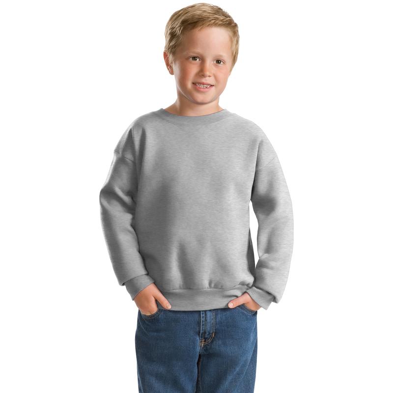 Hanes ®   -  Youth EcoSmart ®  Crewneck Sweatshirt.  P360