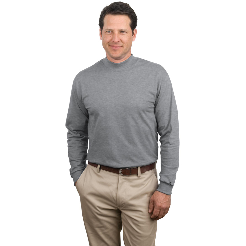MOCK TURTLENECK T-SHIRTS