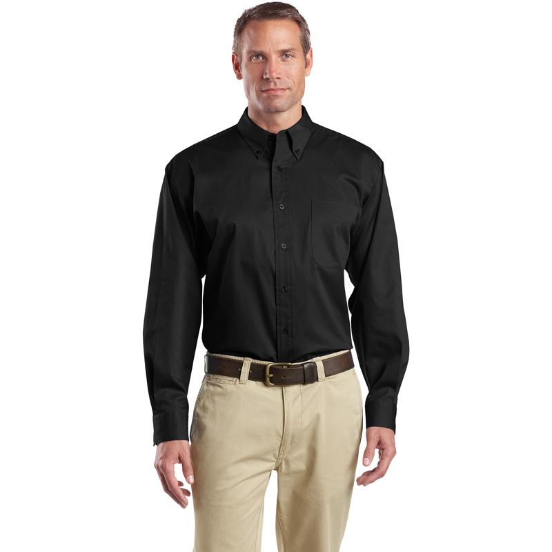 CornerStone ®  - Long Sleeve SuperPro ™  Twill Shirt. SP17